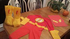 Diy flash costume