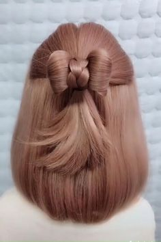 Easy Hairstyles For Long Hair, Pixie Hairstyles, Braided Hairstyles, Beautiful Hairstyles, Stylish Hairstyles, Hairstyle Short, School Hairstyles, Updo Hairstyle, Tips For Long Hair