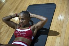 Ernestine Shepherd, in shape at age 74 - Over the past 18 years, Shepherd has completed nine marathons and won two bodybuilding contests. <3