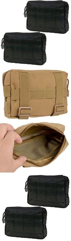 Waist Packs and Bags 181380: Molle Pouches - Compact Water-Resistant Multi-Purpose Tactical Edc Utility Gear -> BUY IT NOW ONLY: $59.99 on eBay!