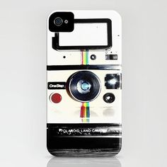 Shake it Like a Polaroid picture by Rachel Landry. iPhone case via design milk