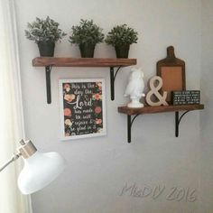 """Super easy! The brackets came from home depot in the closet and organizing section. the lumber from lowes. I used 2x8"""" boards but you can used whatever size you want!!!"""