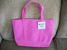 Pink Tote Bag by IsabelsVintage on Etsy, $6.00