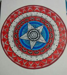 Mandala, Escudo Capitan America