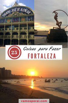 Fortaleza é uma cidade apaixonante! Descubra aqui 25 dicas sobre o que fazer na cidade: Teatro José de Alencar, Museu da Fotografia, Beach Park e muito mais! #fortaleza #praiasdobrasil