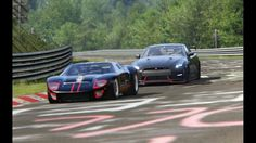 Battle Nissan GT R35 Nismo x Ford GT40 at Nordschleife