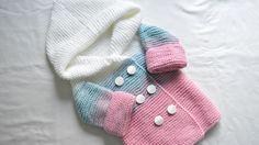 New Baby Crochet Hats Boy Yarns Ideas Knitting Patterns Boys, Knitting For Kids, Crochet For Kids, Baby Knitting, Crochet Baby Clothes Boy, Knit Baby Dress, Crochet Baby Hats, None, Baby Boy Jackets