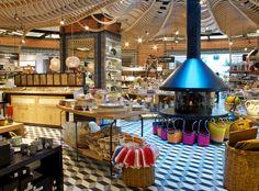 Aromas y sabores internacionales dan colorido a cada rincón de El Mercado ¡Visita nuestra área de Tienda!