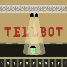 Tellbot on scene!  It's my first rock n roll platrormer game. Alpha 1.0 is out! A small part of big work is done. Try it if you love rock'n'roll! I need more testers ;)  https://www.facebook.com/swrockgame/  #games #platformer #gamedev