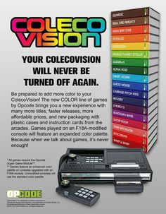 50 Best Colecovision images in 2018 | Retro video games, Pinball