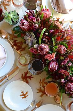 From a thoroughly South African table setting to a host of easy recipes, here is my Mother's Day menu round-up to celebrate home cooking!