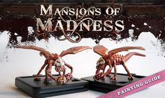 MoM Painting Guide mansions of madness painted minis