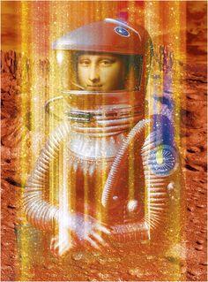 0189 [David Teixidor] Gioconda 2001 - Teletransportation to Mars