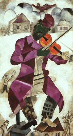 marc chagall paintings   Marc Chagall: should Tate Liverpool really call him a 'modern master ..