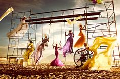 "EDITORIAL - HIGH FASHION ""CIRCUS"" by Kristian Schuller fashion ..."