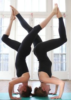 Double Sirsasana..I hate and admire them at the same time:-)
