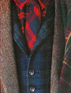 Tweed and tartan