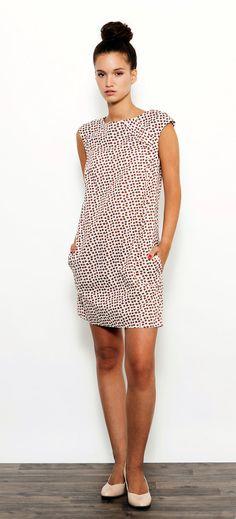 4db0bf3fe3a Christmas SALE Autumn Dress Geometric Shift Dress by DayOffDesign Pingo