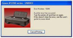 Coretan Terbaru: Cara Reset Printer Canon iP2770