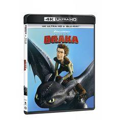 Blu-ray Jak vycvičit draka, UHD + BD, CZ dabing   Elpéčko - Predaj vinylových LP platní, hudobných CD a Blu-ray filmov Dreamworks, Baseball Cards, Sports, Hs Sports, Sport