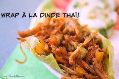 Wrap à la dinde thaï