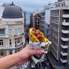 """Thessaloniki Travel on Instagram: """"Practicing #socialdistancing in Thessaloniki made easy with gyros served with...tzatziki ! Keep calm, stay safe and eat tzatziki.…"""" Thessaloniki, Macedonia, Athens, The Locals, Make It Simple, Travel Inspiration, Louvre, In This Moment, Tzatziki"""