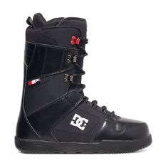 DC Phase Snowboard Boots - Black/Red | Free UK Delivery* and Returns