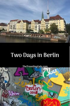 While you could, of course, spend way more time in Berlin, here are some things you should definitely do if you only have two days in Berlin, Germany. Cities In Germany, Berlin Germany, Germany Travel, Germany Europe, Backpacking Europe, Europe Travel Tips, Travel Destinations, European Vacation, European Travel