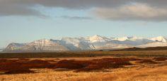 Iceland : The unglaciated central part of Skaftafellsfjöll, Skaftafell National Park, facing northeast