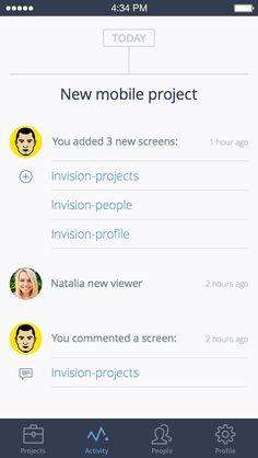 Invision-activity