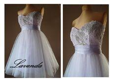 Suknia wieczorowa sukienka studniówka LAVENDA