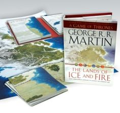 Offical Game of Thrones: The Lands of Ice and Fire map