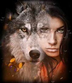 Pin by Monica on Women Drawings and Photography [Video] in 2019 Native American Wolf, Native American Pictures, Native American Artwork, Fantasy Wolf, Fantasy Art Women, Dark Fantasy Art, Tattoo Girls, Wolf Girl Tattoos, Wolf Pictures