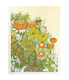 vintage floral ++ brainstorm