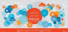 Successful New Year Business Greeting stock vecteur libres de droits libre de droits