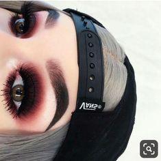 Grunge Glam - Make Up - Makeup Makeup Fx, Punk Makeup, Edgy Makeup, Fall Makeup, Makeup Goals, Makeup Inspo, Makeup Inspiration, Beauty Makeup, Grunge Eye Makeup
