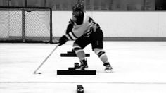 "Connor McDavid shown preparing for a ""Reactive Agility"" Session in the off-season. Connor McDavid works his skills at high speed, changing body positioning Connor Mcdavid, Hockey Training, Pro Hockey, Camps, Watch, Check, Youtube, Campsis, Clock"