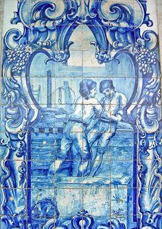 Estação Ferroviária do Bombarral - Portugal | Azulejos