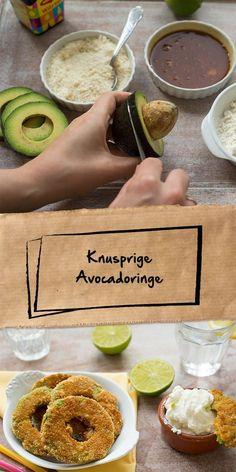Du möchtest deinen Gästen am Buffet einen besonderen Fingerfood Snack anbieten? Dann sind die knusprigen Avocadoringe genau das richtige für dich! Avocado in Ringe schneiden, panieren, in der Pfanne braten - fertig. Schmecken einfach super.