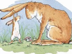 Guess How Much I Love You - big nut brown and little nut brown hare