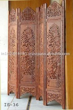 Oriental Double Sided Thai Buddha Room Divider 129 liked on