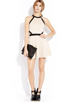 Cutout Craze Skater Dress | FOREVER21 Friday night outfit inspo! #Capsule #OOTN #Cutouts
