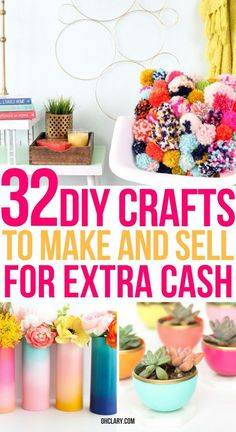 195 Best Crafts To Make Sell Images Craft Business Creativity