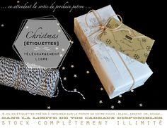étiquettes à télécharger Christmas 2012 - vanessa pouzet [e-shop]