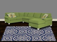 Shop For Bassett U Shaped Sectional, 3850 USECTU, And Other Living Room