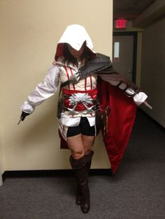 Assassins Creed 2 Ezio Auditore da Firenze Female Cosplay Costume on Etsy, $375.00