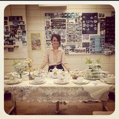 A darling tea party...