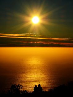 Lovers Sunset....