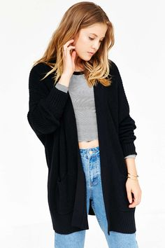 URBAN OUTFITTERS Black BDG Parker Cardigan (small) (49$)