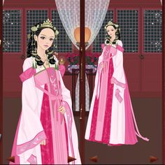 Her appearance is based on the character of Soah from Mi-Kyung Yun's Bride of the Water God, which is a pretty good manwha actually, even if it continue. Korean Traditional, Traditional Fashion, Traditional Dresses, Chinese Makeup, Jang Nara, Anime Korea, Bride Of The Water God, Korean Hanbok, Hanfu